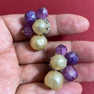🖤1960s Hattie Carnegie clip earrings